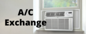 VAC - Voluntary Action Center A/C Exchange program -image of window air conditioner unit